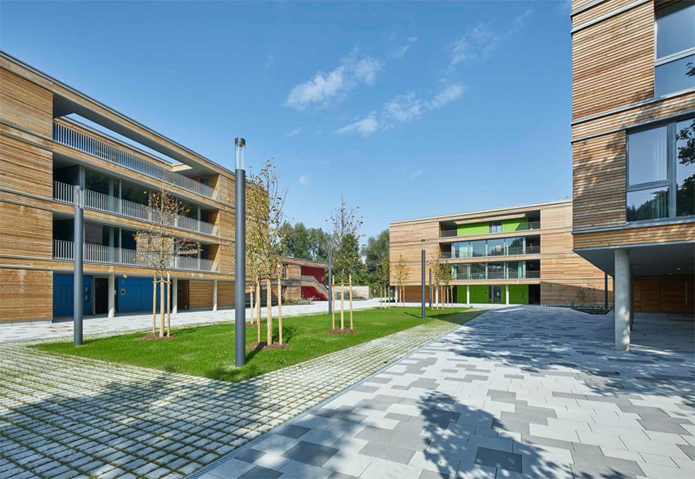 Architekten Landshut studentenwohnanlage mit kita landshut schaltraum architekten hamburg