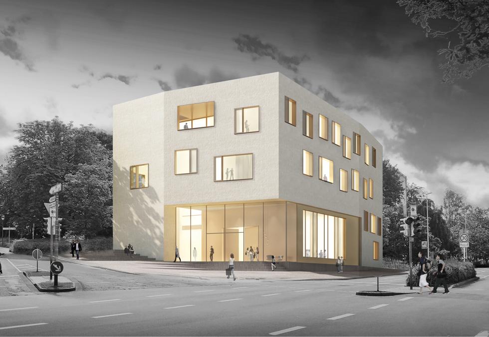 musikschule l denscheid schaltraum architekten hamburg. Black Bedroom Furniture Sets. Home Design Ideas