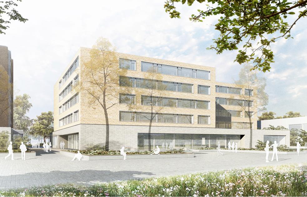 berufliche schule h7 city nord hamburg schaltraum architekten hamburg. Black Bedroom Furniture Sets. Home Design Ideas